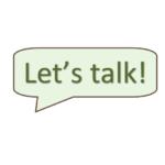 Let's Talk: PEACE